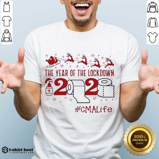 Premium The Year Of The Lockdown 2020 #Cmalife Christmas Shirt - Design By 1tees.com