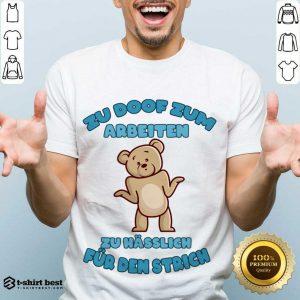 Premium Working Doof Life Motto Pessimist Statement Funny Shirt - Design By 1tees.com
