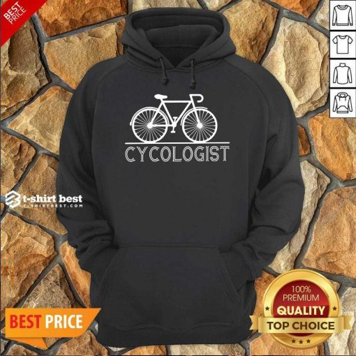 Bicycle Cycologist Hoodie - Design By 1tees.com