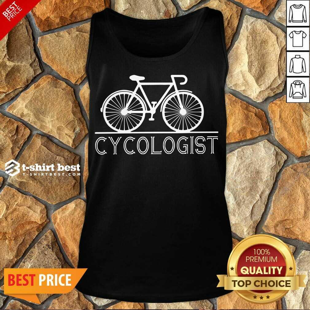 Bicycle Cycologist Tank Top - Design By 1tees.com