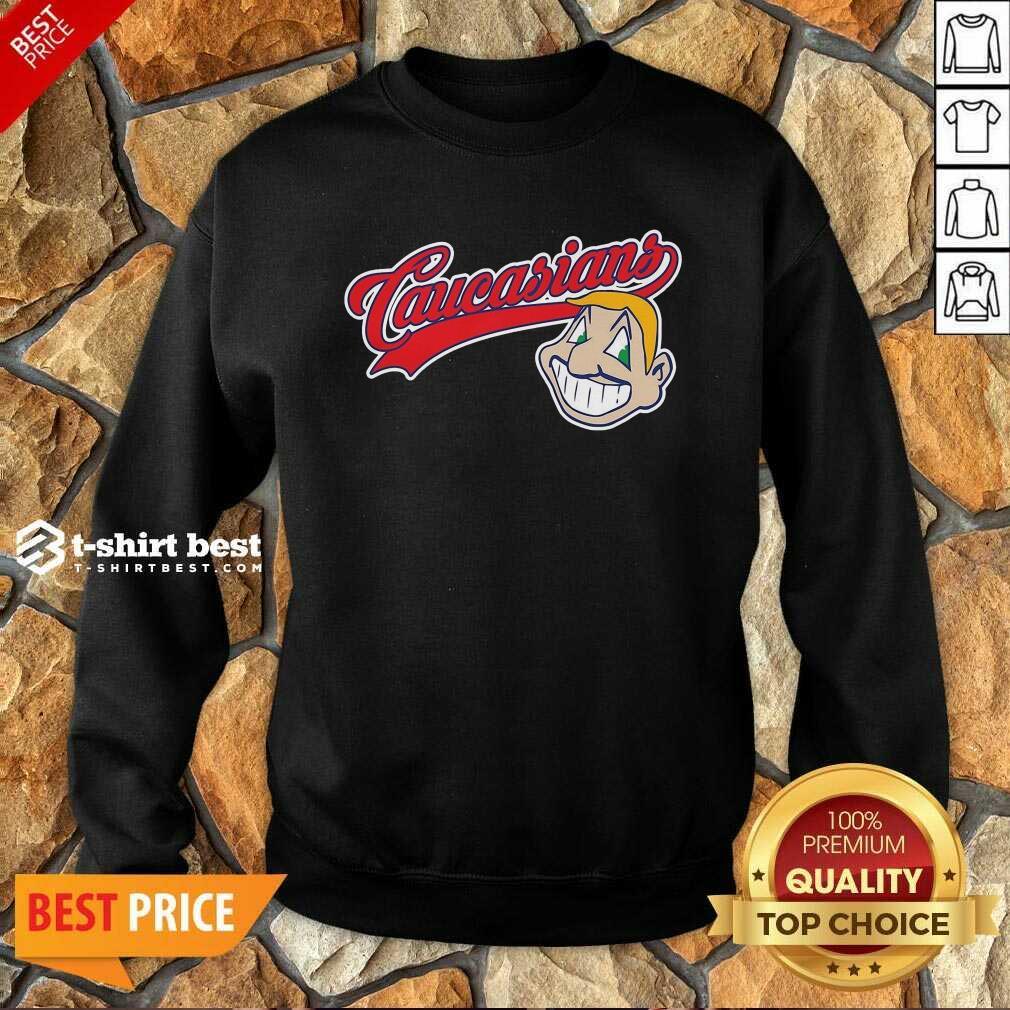 Caucasians Dollar Sweatshirt - Design By 1tees.com