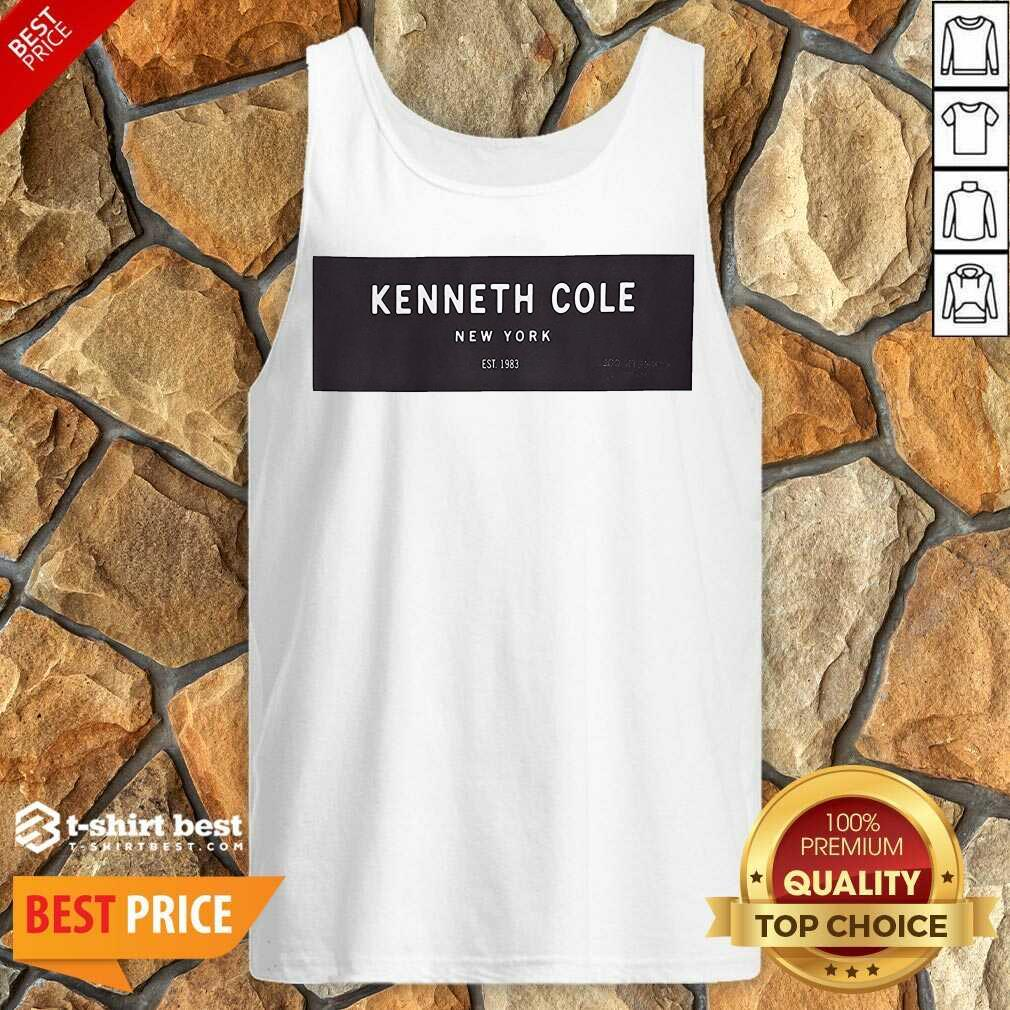 Kenneth Cole New York Tank Top - Design By 1tees.com