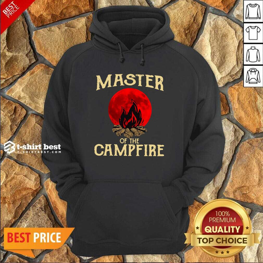 Master Of The Campfire Hoodie - Design By 1tees.com