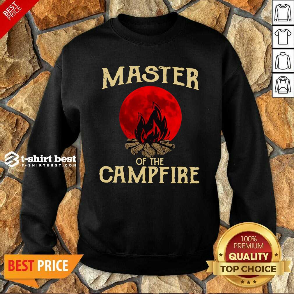 Master Of The Campfire Sweatshirt - Design By 1tees.com