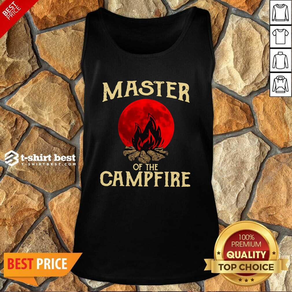 Master Of The Campfire Tank Top - Design By 1tees.com