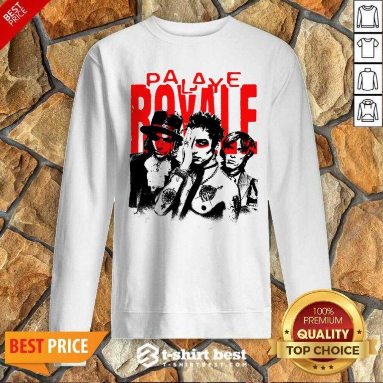 Palaye Royale Merch Photo Sweatshirt - Design By 1tees.com