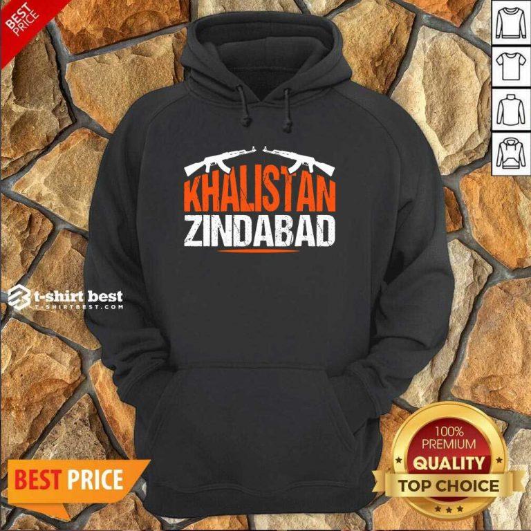Sikh Khalistan Zindabad Singh Punjabi Hoodie - Design By 1tees.com