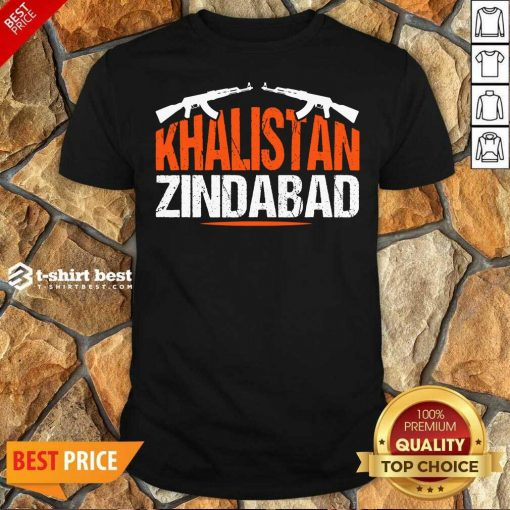 Pretty Sikh Khalistan Zindabad Singh Punjabi Shirt - Design By 1tees.com