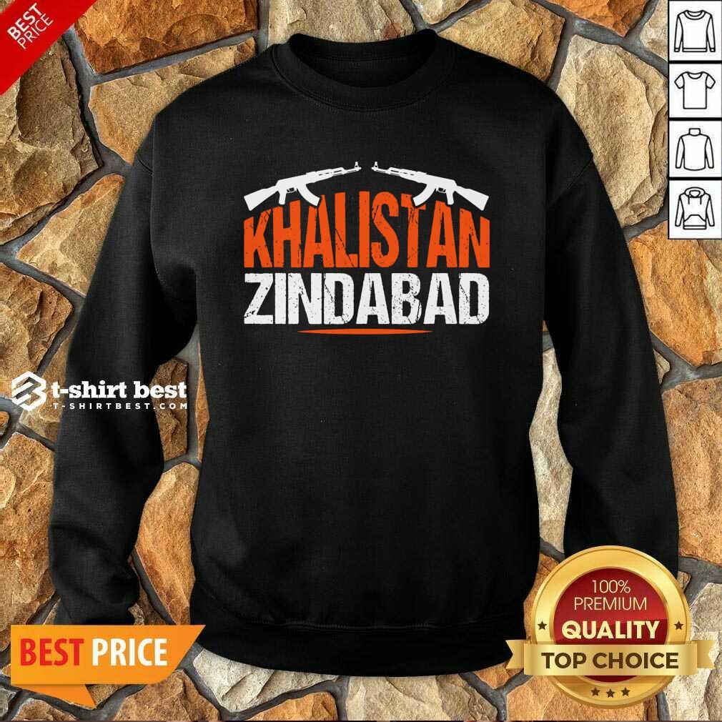 Sikh Khalistan Zindabad Singh Punjabi Sweatshirt - Design By 1tees.com