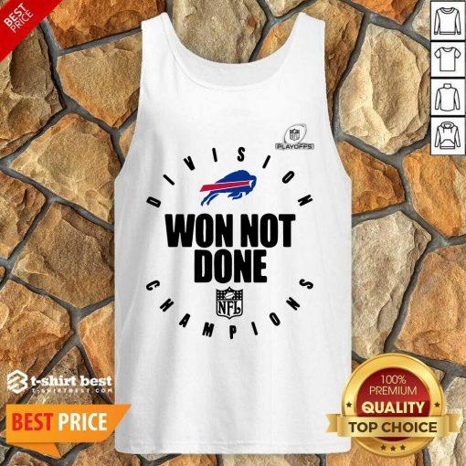 Buffalo Bills Champions 2020 Won Not Done Tank Top - Design By 1tees.com
