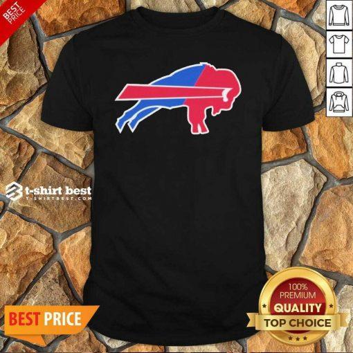 Buffalo Bills Merged Logo Shirt - Design By 1tees.com