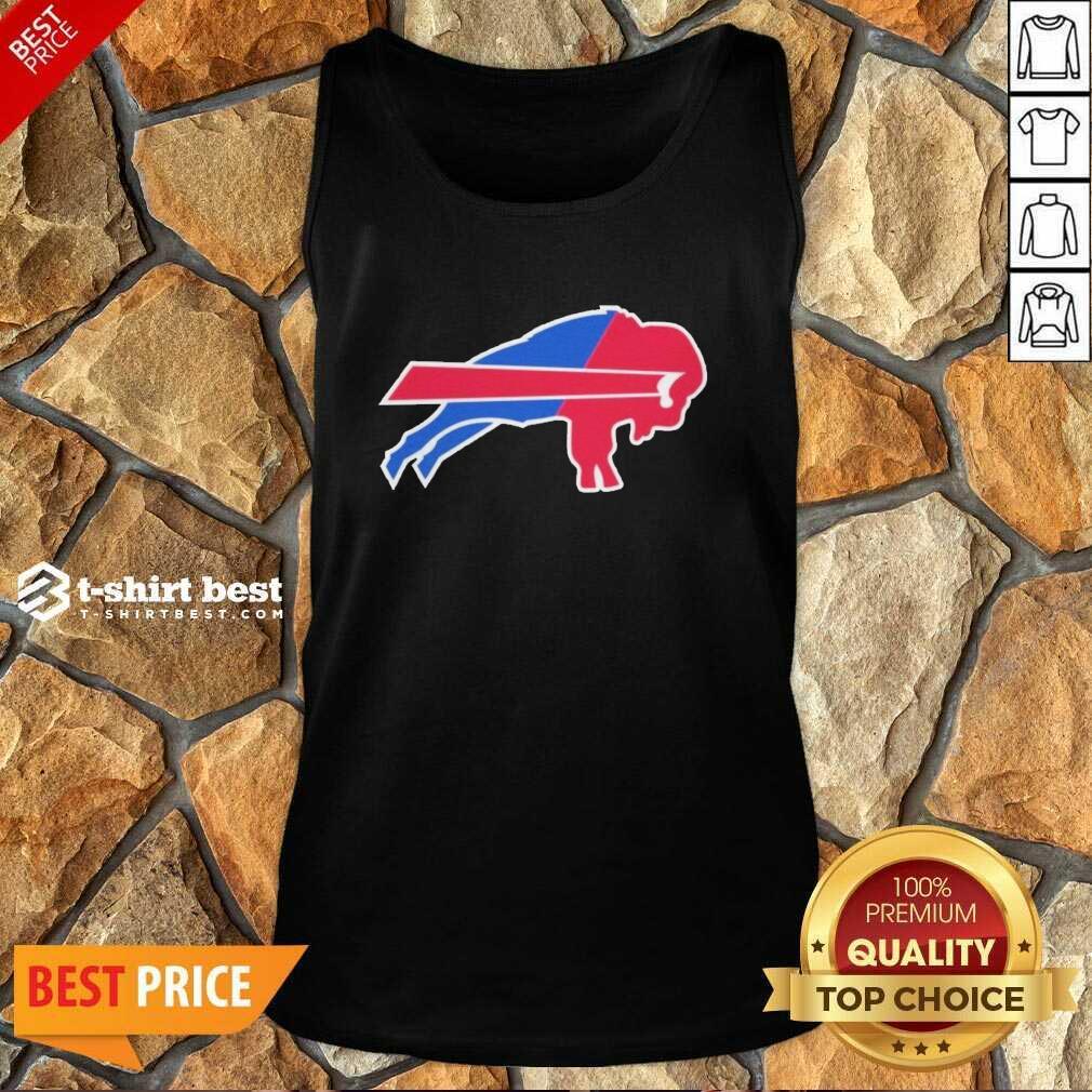 Buffalo Bills Merged Logo Tank Top - Design By 1tees.com