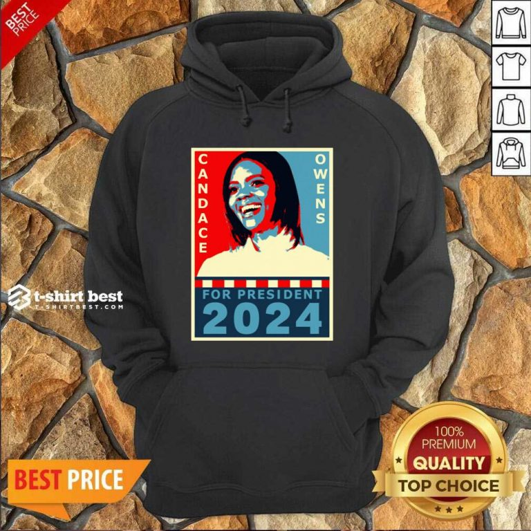 Candace Owens For President 2024 Hoodie - Design By 1tees.com