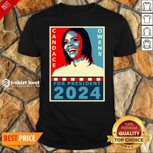 Candace Owens For President 2024 Shirt - Design By 1tees.com