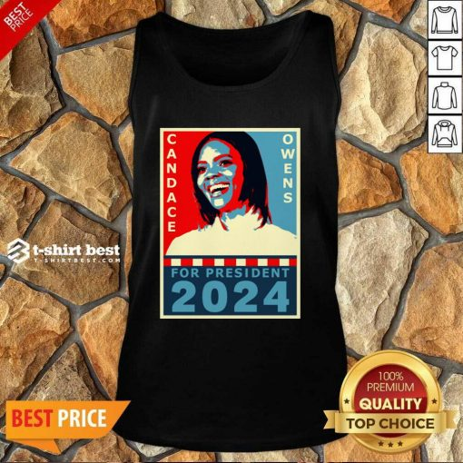 Candace Owens For President 2024 Tank Top - Design By 1tees.com