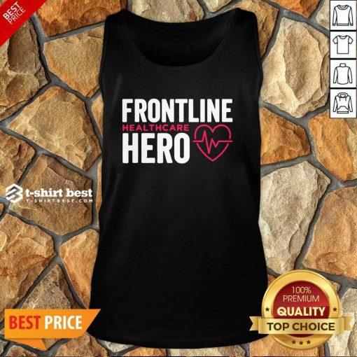 Frontline Hero Healthcare Worker Tank Top - Design By 1tees.com