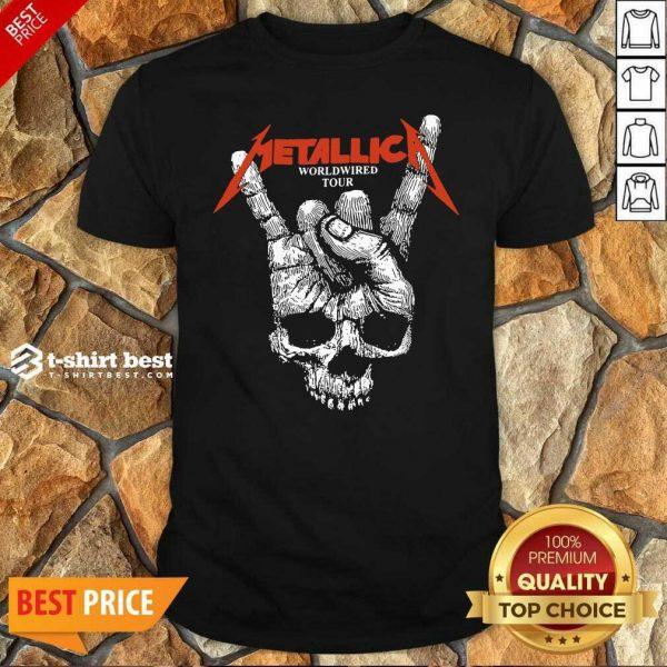 Hair Metallica Worldwired Tour Shirt - Design By 1tees.com