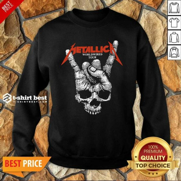 Hair Metallica Worldwired Tour Sweatshirt - Design By 1tees.com