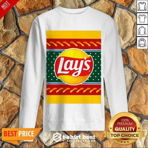 Logo Lays Christmas 2020 Sweatshirt - Design By 1tees.com