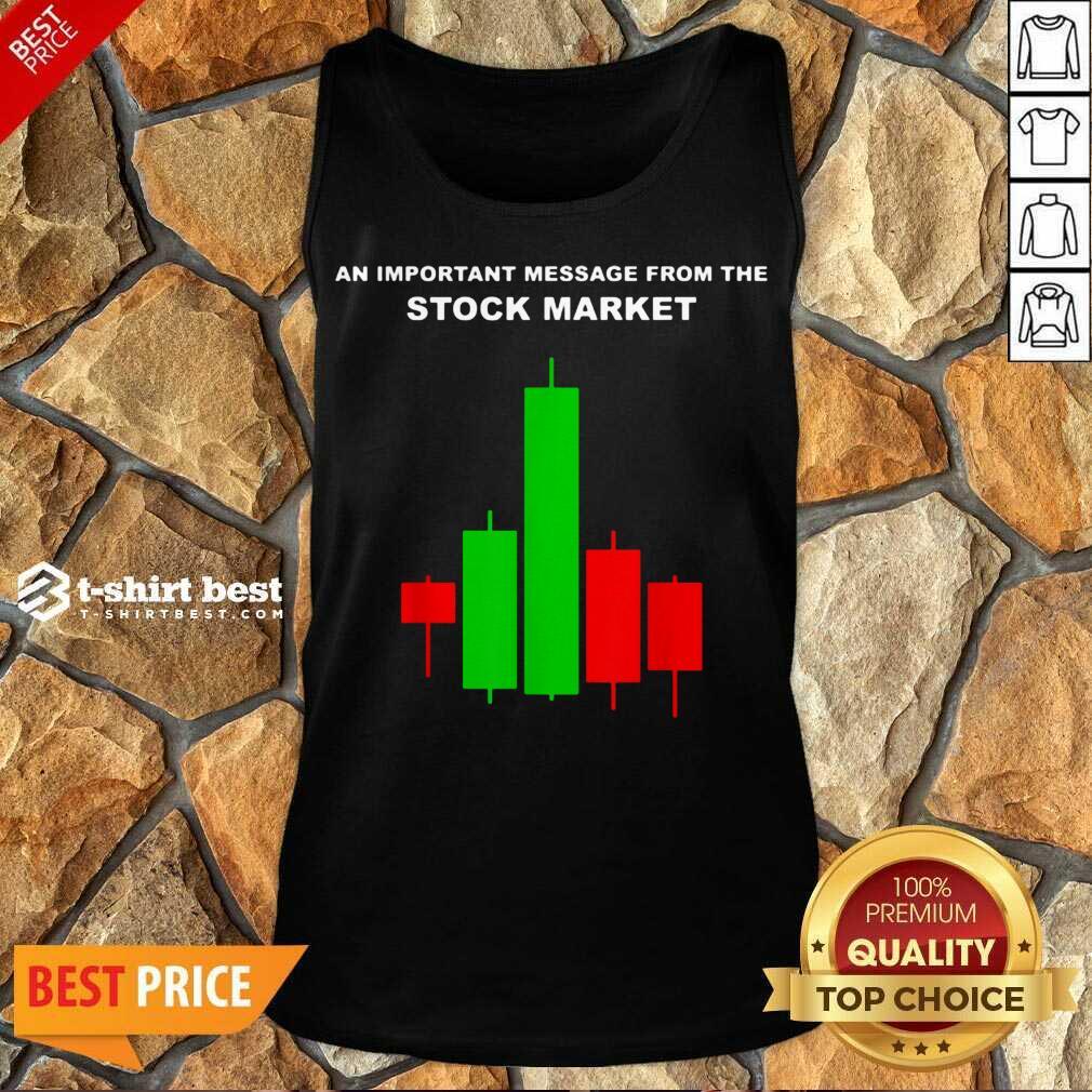 Stock Market Trade Tank Top - Design By 1tees.com