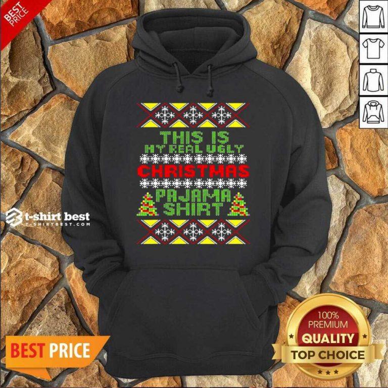 This Is My Christmas Pajama Shirt Ugly Christmas Hoodie - Design By 1tees.com