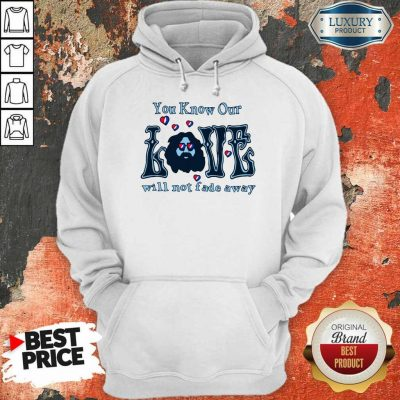 Apprehensive You Know Our Love Will Not Fade Away Hoodie