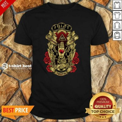 FLT Friendship Love Truth Shirt - Design By 1tees.com