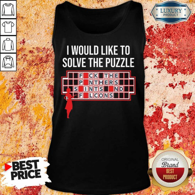 Depressed I Would Like To Solve 3 The Puzzle Tank Top - Design by T-shirtbest.com