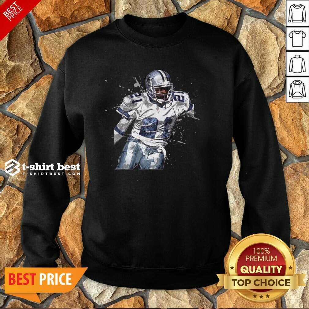 Dallas Cowboys Football Players 21 NFL Playoffs Sweatshirt - Design By 1tees.com