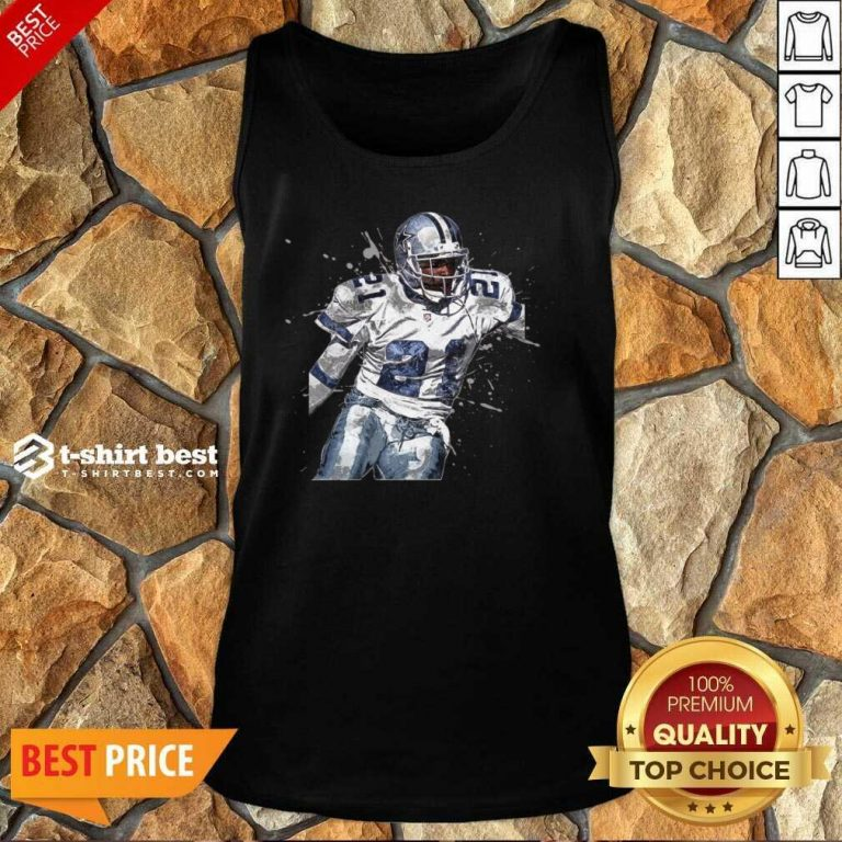 Dallas Cowboys Football Players 21 NFL Playoffs Tank Top - Design By 1tees.com