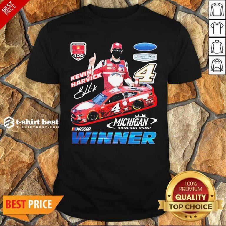 Funny Kevin Harvick Nascar Winner Shirt