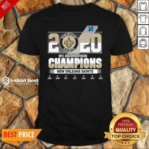 2020 Afc North Division Champions New Orleans Saints 2008 2009 2011 2017 Shirt - Design By 1tees.com