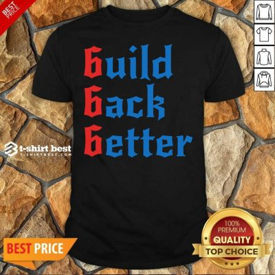 Build Back Better 666 Anti Globalist Shirt - Design By 1tees.com