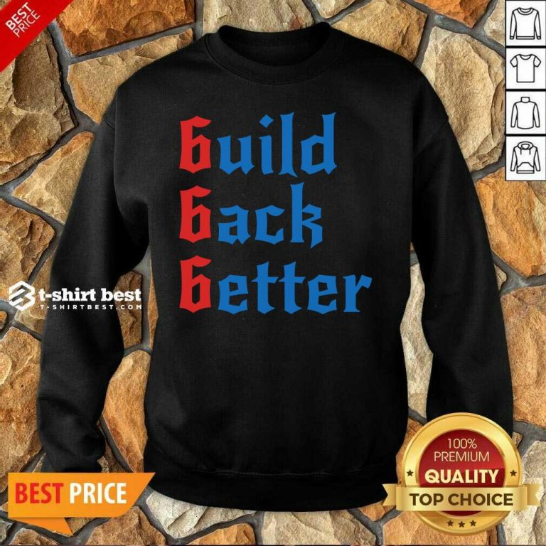Build Back Better 666 Anti Globalist Sweatshirt - Design By 1tees.com