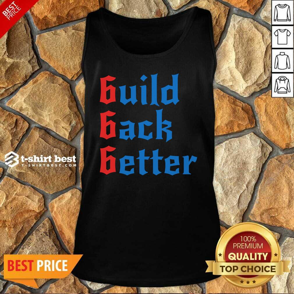 Build Back Better 666 Anti Globalist Tank Top - Design By 1tees.com