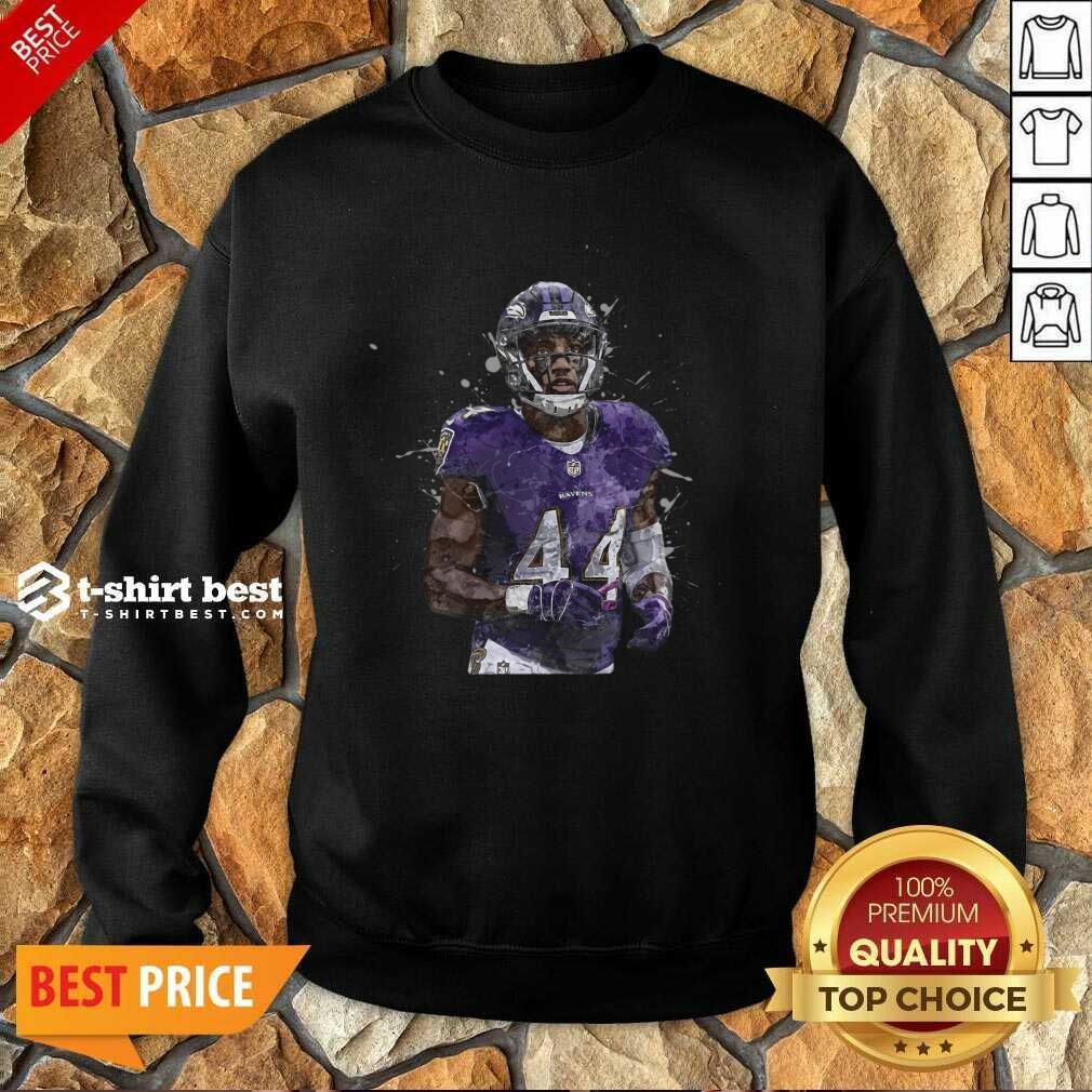 Baltimore Ravens Football Players 44 NFL Playoffs Sweatshirt - Design By 1tees.com