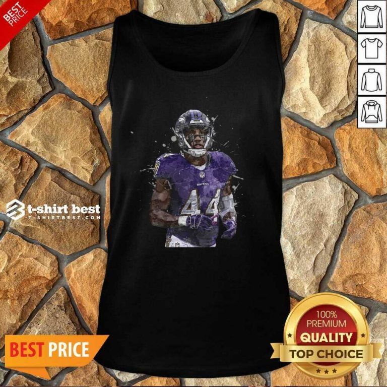 Baltimore Ravens Football Players 44 NFL Playoffs Tank Top - Design By 1tees.com