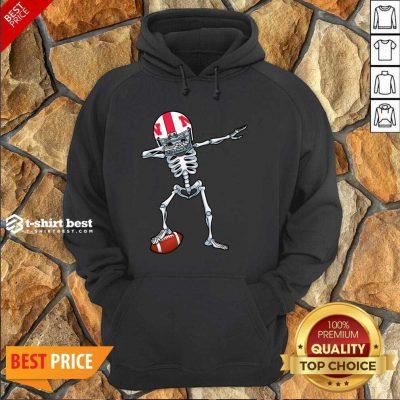 Skeleton Dabbing Nebraska Cornhuskers Hoodie - Design By 1tees.com