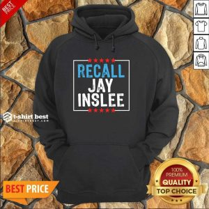Recall Jay Inslee Stars Election Hoodie - Design By 1tees.com