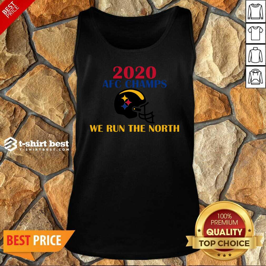 2020 Afc Champs Pittsburgh Steelers Football We Run The North Tank Top - Design By 1tees.com