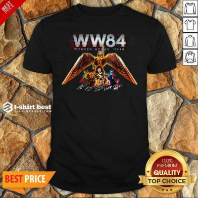 WW84 Wonder Woman 1984 Signatures Shirt - Design By 1tees.com