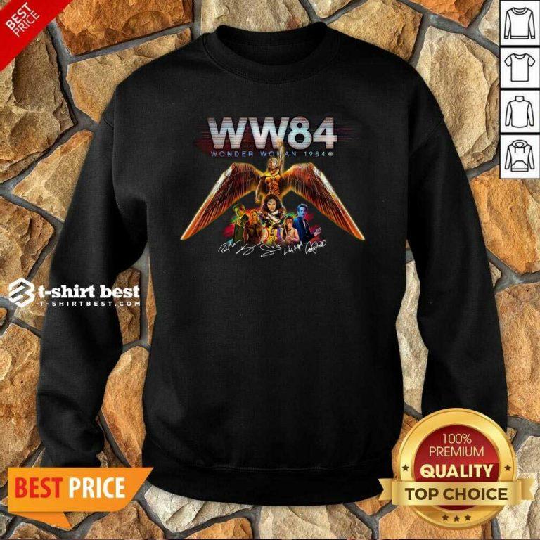 WW84 Wonder Woman 1984 Signatures Sweatshirt - Design By 1tees.com