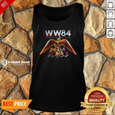 WW84 Wonder Woman 1984 Signatures Tank Top - Design By 1tees.com