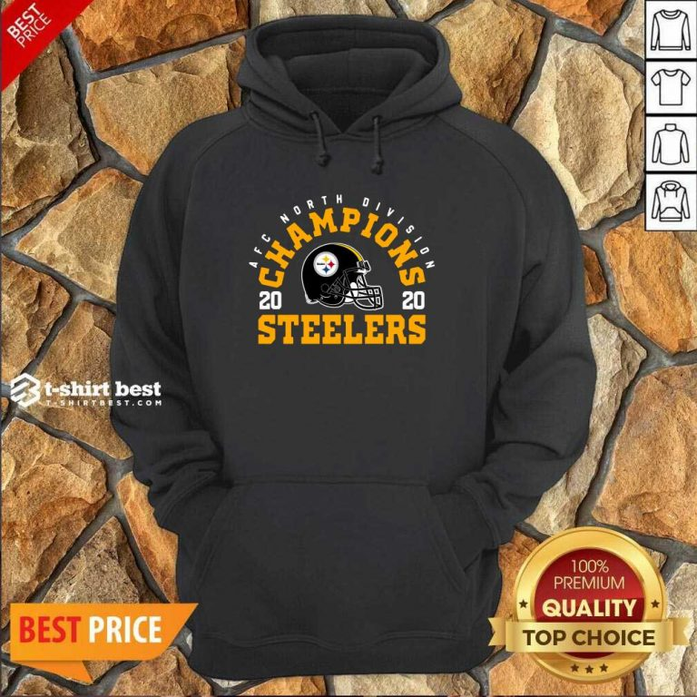 Afc North Division Champions 2020 Pittsburgh Steelers Hoodie - Design By 1tees.com