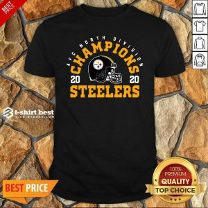 Afc North Division Champions 2020 Pittsburgh Steelers Shirt - Design By 1tees.com