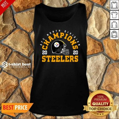Afc North Division Champions 2020 Pittsburgh Steelers Tank Top - Design By 1tees.com