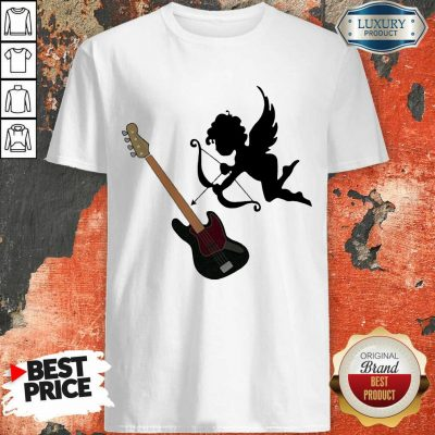 Reluctant Cupid Angles 1 Guitar Shirt - Design by T-shirtbest.com