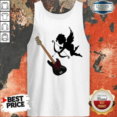 Reluctant Cupid Angles 1 Guitar Tank Top - Design by T-shirtbest.com
