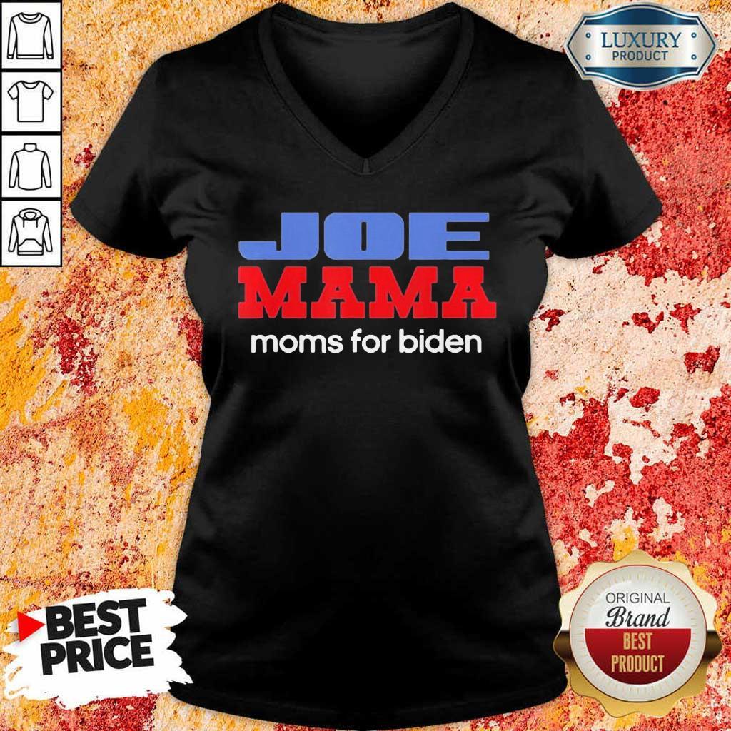 Surprised Joe Mama Moms For Biden 4 V-neck
