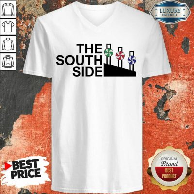 Suspicious Chicago Bears The 17 South Side V-neck - Design by T-shirtbest.com